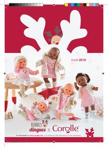 Catalogue Corolle Noël 2018 page 1