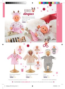 Catalogue Corolle Noël 2018 page 9