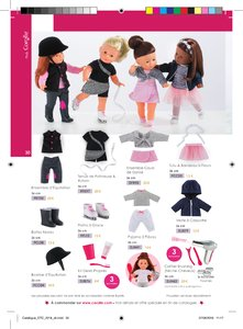 Catalogue Corolle Noël 2018 page 30