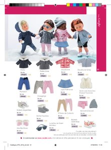 Catalogue Corolle Noël 2018 page 31