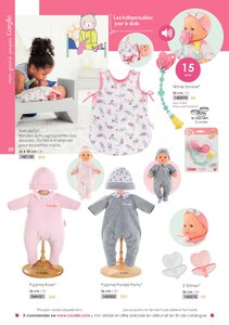 Catalogue Corolle Noël 2019 page 20