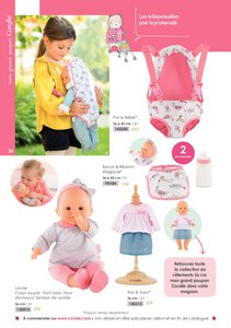 Catalogue Corolle Noël 2019 page 26
