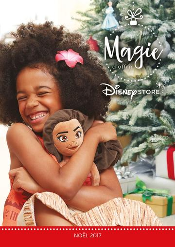 Catalogue Disney Store Noël 2017