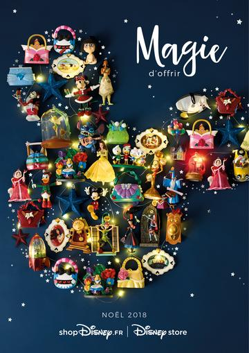 Catalogue Disney Store Noël 2018