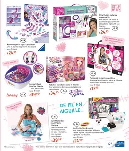 Catalogue Dreamland Belgique Noël 2017 page 127