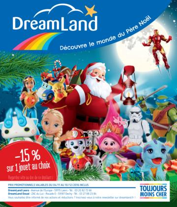 Catalogue Dreamland Noël 2016