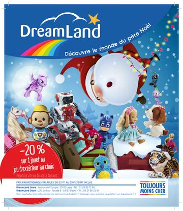 Catalogue Dreamland Noël 2017