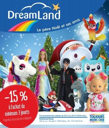 Catalogue Dreamland Noël 2018