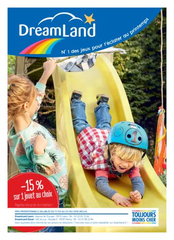 Catalogue Dreamland printemps 2016