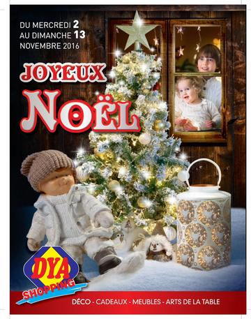 Catalogue Dya Shopping Noël 2016