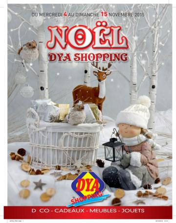 Catalogue Dya Shopping Noël 2015