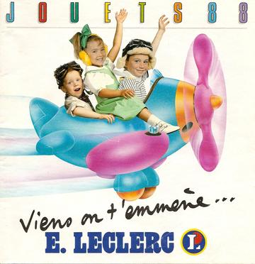 Catalogue E-Leclerc Noël 1988