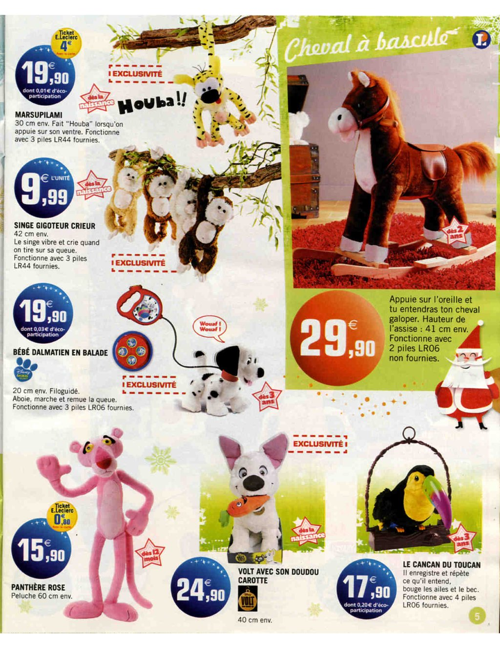 Catalogue E-Leclerc Noël 2009 | Catalogue