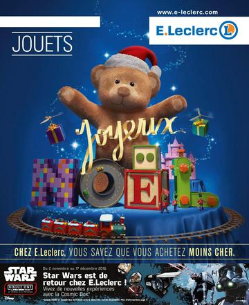 Catalogue E-Leclerc Noël 2016