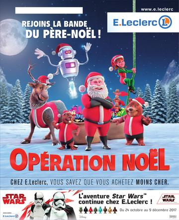 Catalogue E-Leclerc Noël 2017