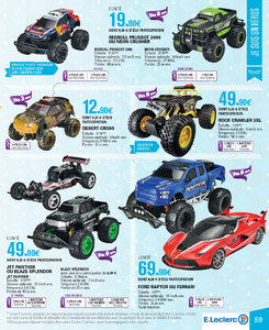 Catalogue E-Leclerc Noël 2018 (alternatif) page 59