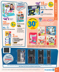 Catalogue E-Leclerc Noël 2018 (alternatif) page 71