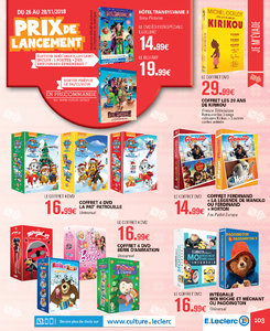 Catalogue E-Leclerc Noël 2018 (alternatif) page 103