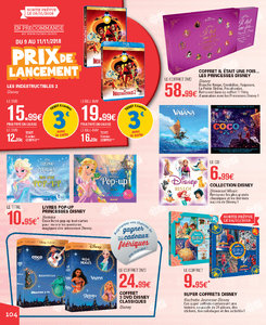 Catalogue E-Leclerc Noël 2018 (alternatif) page 104