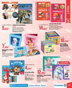 Catalogue E-Leclerc Noël 2018 (alternatif) page 107