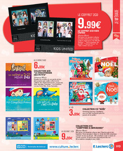 Catalogue E-Leclerc Noël 2018 (alternatif) page 109