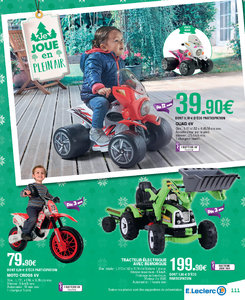 Catalogue E-Leclerc Noël 2018 (alternatif) page 111