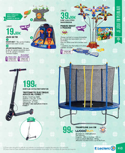 Catalogue E-Leclerc Noël 2018 (alternatif) page 113