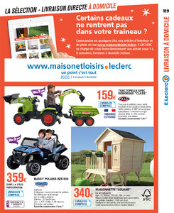 Catalogue E-Leclerc Noël 2018 (alternatif) page 119
