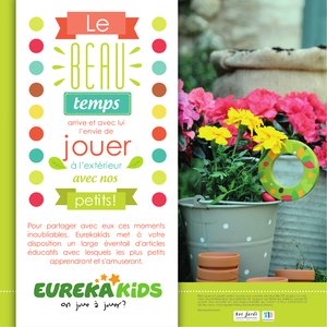 Catalogue Eurekakids Printemps-Été 2016 page 2