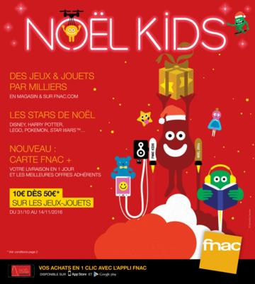 Catalogue Fnac Noël 2016