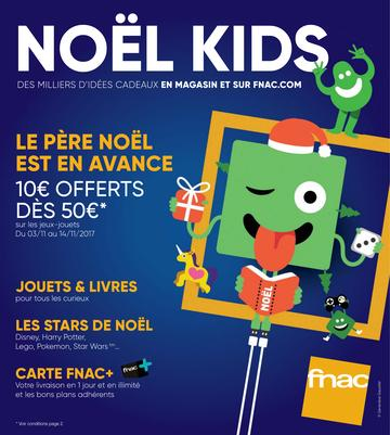 Catalogue Fnac Noël 2017