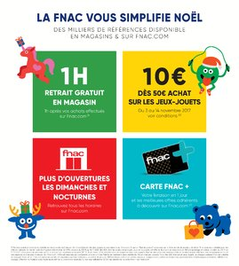 Catalogue Fnac Noël 2017 page 2