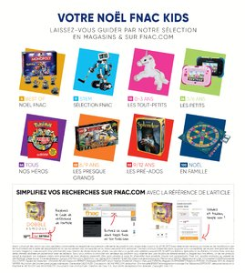 Catalogue Fnac Noël 2017 page 3