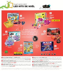 Catalogue Fnac Noël 2017 page 4