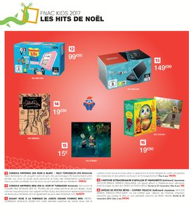 Catalogue Fnac Noël 2017 page 6