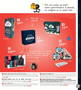 Catalogue Fnac Noël 2017 page 7