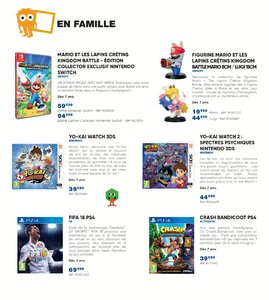 Catalogue Fnac Noël 2017 page 106