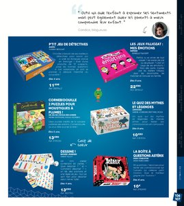 Catalogue Fnac Noël 2017 page 107