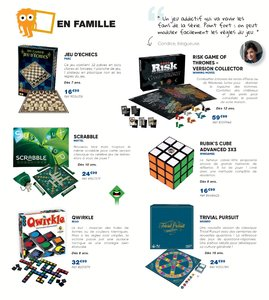 Catalogue Fnac Noël 2017 page 108