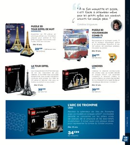 Catalogue Fnac Noël 2017 page 109