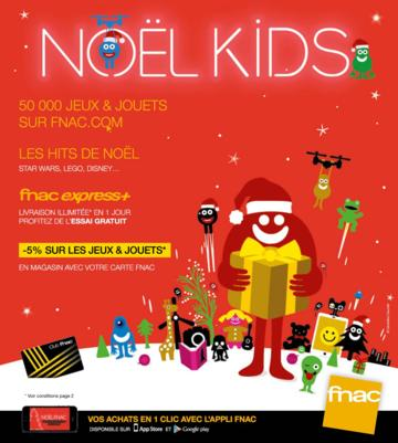 Catalogue Fnac Noël 2015