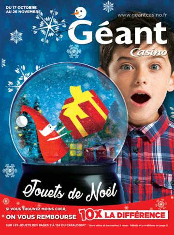 Catalogue Géant Casino Noël 2016