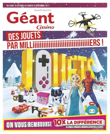 Catalogue Géant Casino Noël 2017