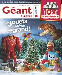 Catalogue Géant Casino Noël 2018 page 1