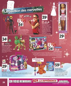 Catalogue Géant Casino Noël 2018 page 28