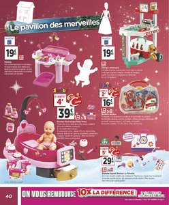 Catalogue Géant Casino Noël 2018 page 40