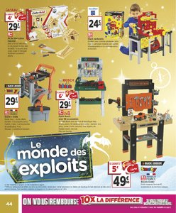 Catalogue Géant Casino Noël 2018 page 44
