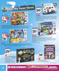 Catalogue Géant Casino Noël 2018 page 70