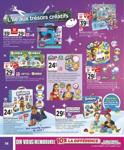 Catalogue Géant Casino Noël 2018 page 74