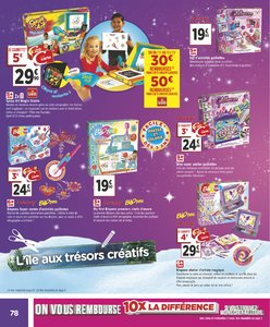 Catalogue Géant Casino Noël 2018 page 78